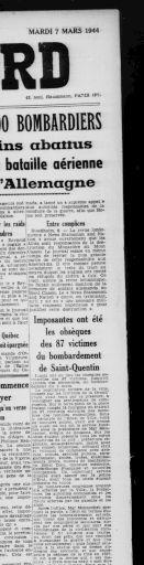 Le Réveil du Nord 7 mars 1944 | RetroNews Le site de